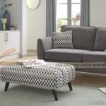 Mẫu ghế sofa văng, sofa đơn vải nỉ cho không gian quý phái – Mã: SVV-031
