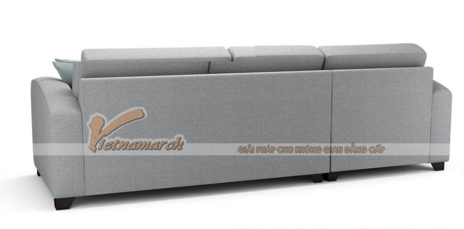 Mẫu ghế sofa góc nhỏ chất liệu vải nỉ cho phòng khách hướng ngoại- SVG-021