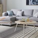 Mẫu ghế sofa góc nhỏ chất liệu vải nỉ cho phòng khách hướng ngoại- Mã: SVG-021