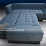 Mẫu sofa mềm mại như lông vũ với vải nỉ nhung cao cấp  – Mã: SVG-002