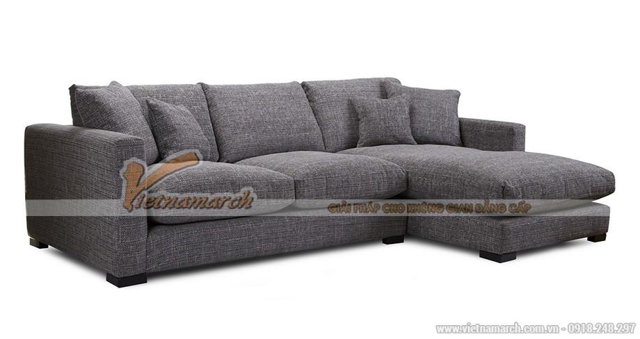 Mẫu ghế sofa SFVN049 góc vải sợi linen - 05