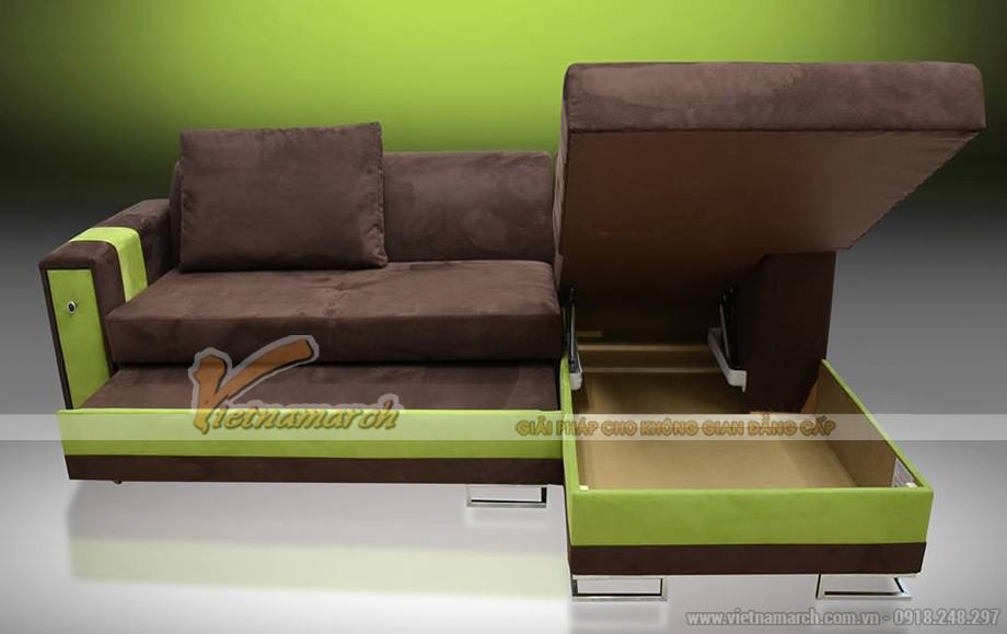 Mẫu sofa vải nỉ nhập khẩu Hàn Quốc chất liệu cực tốt - Mã: SVG-001