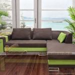 Mẫu sofa vải nỉ nhập khẩu Hàn Quốc chất liệu cực tốt – Mã: SVG-001