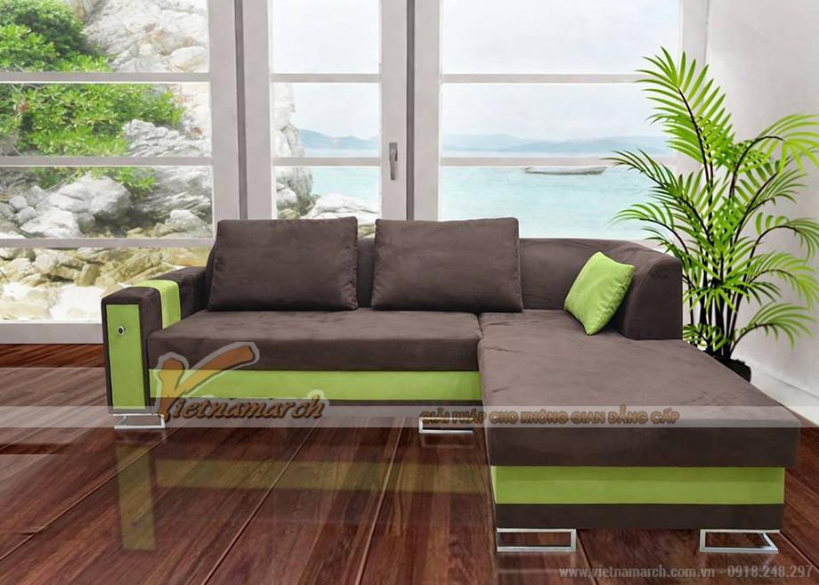Chọn màu sắc ghế sofa phòng khách hợp với gia chủ mệnh Mộc - 09