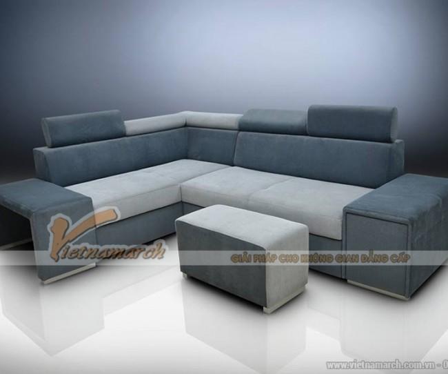 Sofa nỉ nhập khẩu Đài Loan