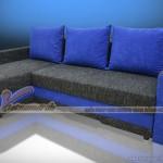 Mầu sắc vải phá cách trong mẫu ghế sofa góc đẹp lạ mắt – Mã: SVG-007