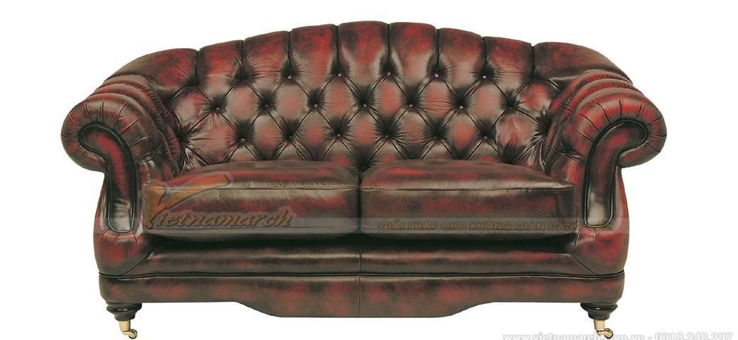 Dáng ghế sofa đôi - Sofa cổ điển