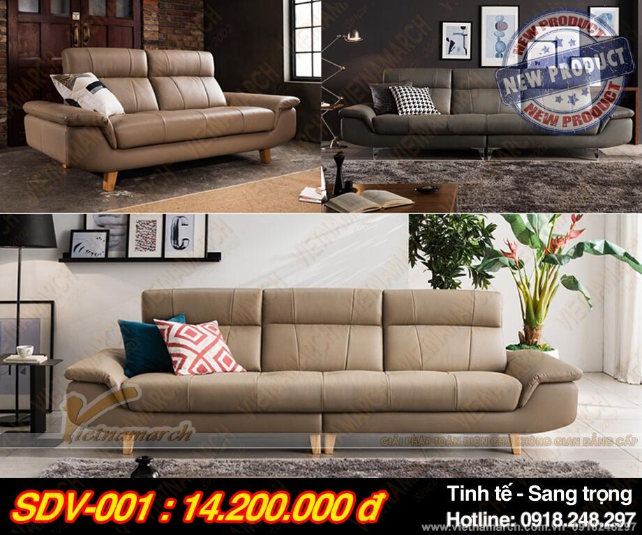 Bộ ghế sofa da cao cấp – Thiết kế vượt trội – Điểm nhấn trong không gian nội thất.