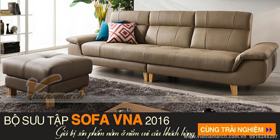 Đẳng cấp từng góc cạnh - bộ ghế sofa da văng SDV-001