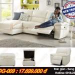 Mẫu ghế sofa góc sang trọng, tinh tế cho nội thất phòng khách – Mã: SDG- 009