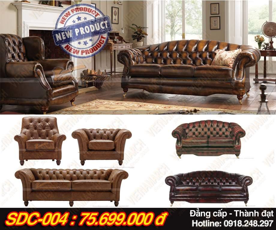Mẫu Bộ ghế sofa tân cổ điển