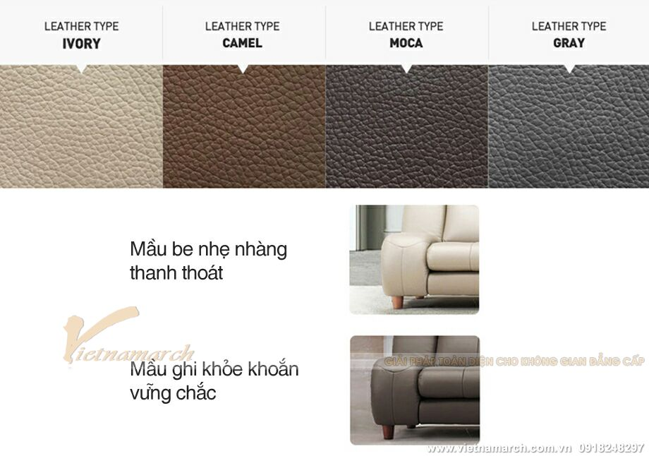 Mẫu ghế sofa văng da cao cấp thiết kế sang trọng-12