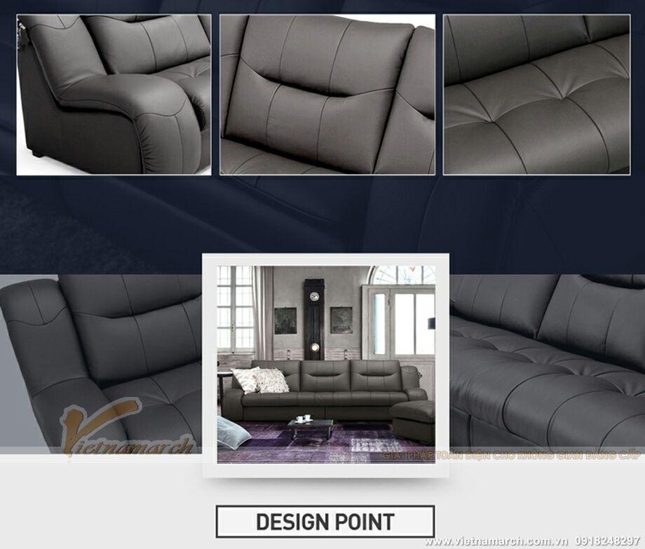 Mẫu ghế sofa văng da cao cấp thiết kế sang trọng-14