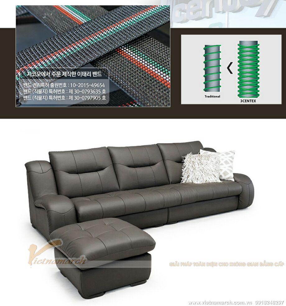 Mẫu ghế sofa văng da cao cấp thiết kế sang trọng-10