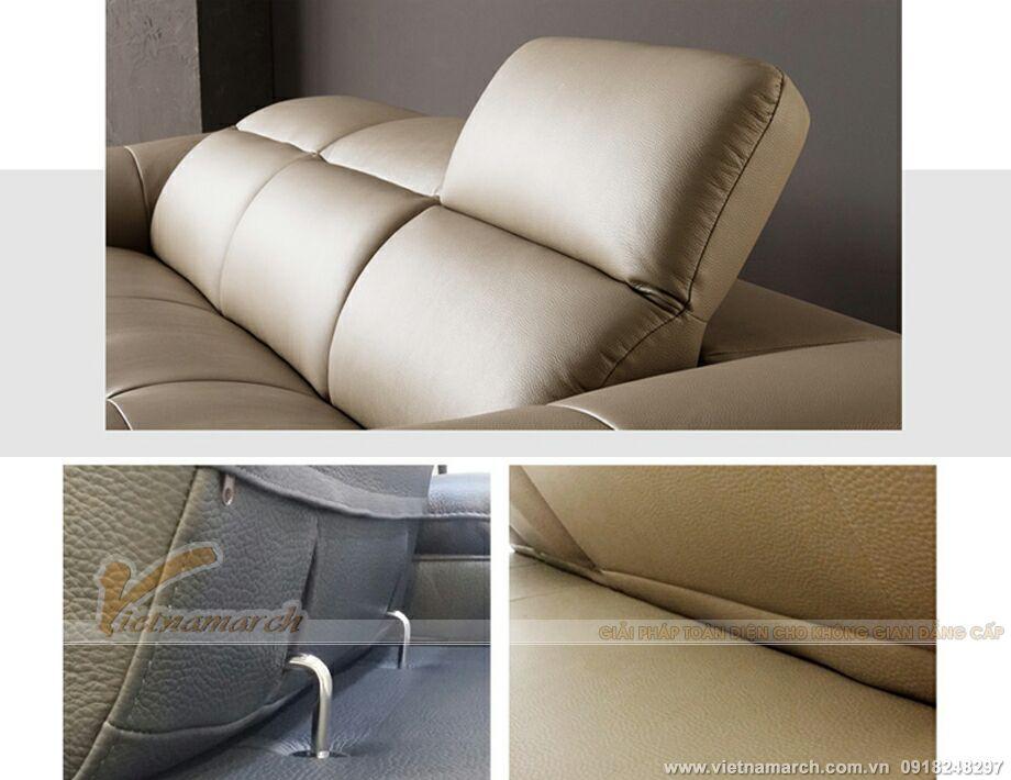 Mẫu ghế sofa da văng Mã: SDV-008 Hoàn hảo