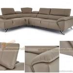 Mẫu sofa da chữ L trang nhã sang trọng – Mã: SDG-013
