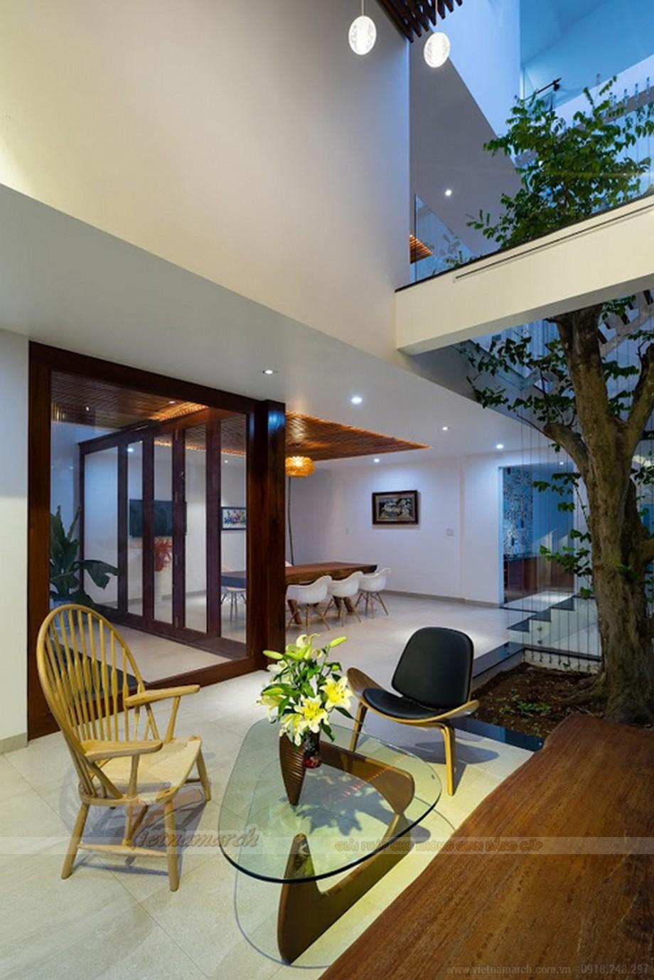 Thiết kế nội thất đẹp, độc đáo trong ngôi nhà