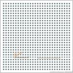 Tấm thạch cao tiêu âm Gyptone BIG SIXTO 63 đục lỗ tròn lục giác 13mm