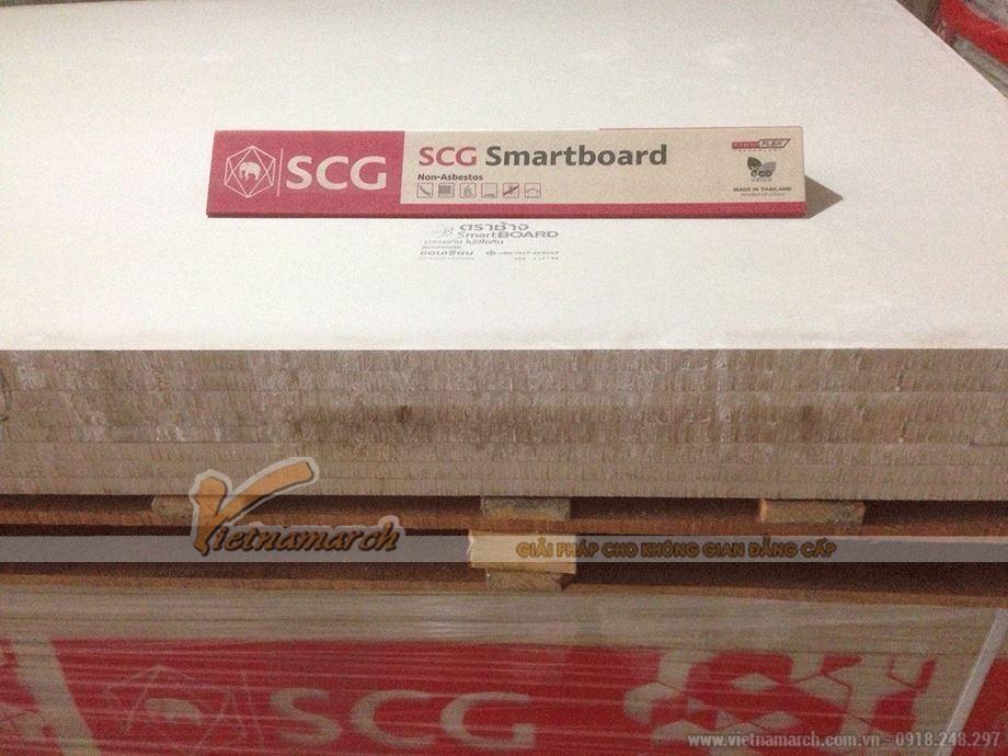 Tấm xi măng Smartboard dùng làm lót sàn