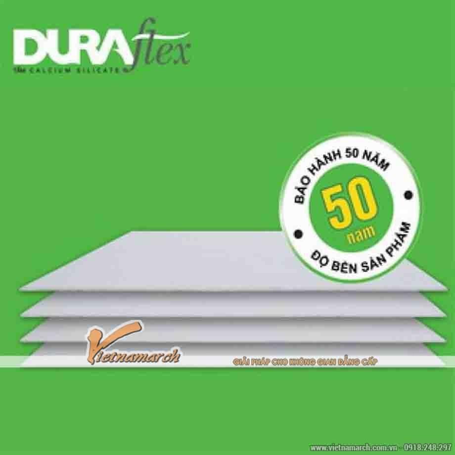 Tấm xi măng Duraflex làm lót sàn bền đẹp