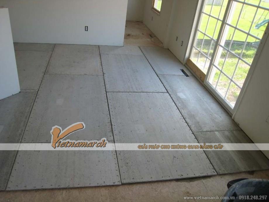 Mẫu tấm xi măng Smartboard làm sàn 01
