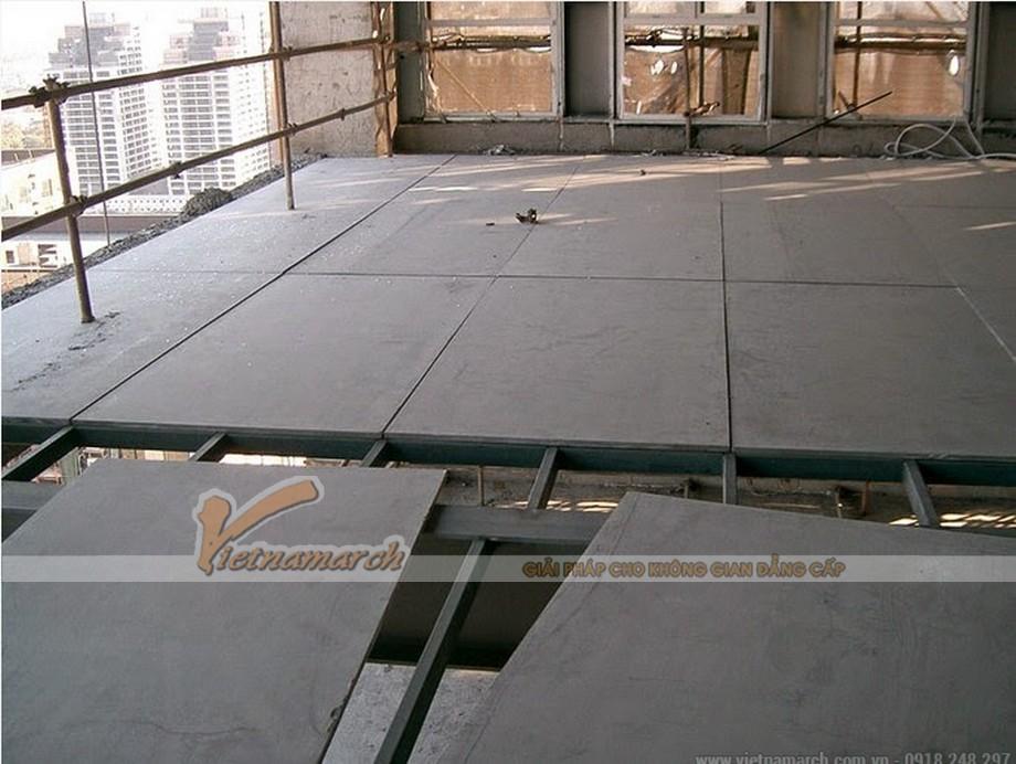 Tấm xi măng UCO làm lót sàn