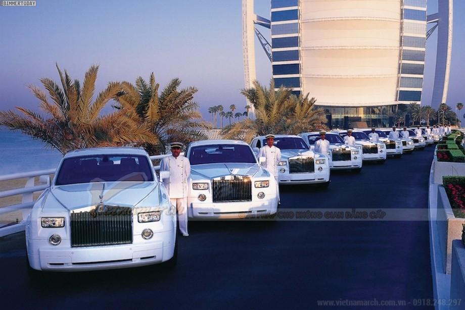 Dàn siêu xe Rolls Royce Phantom tự tin chất lượng phục vụ hàng đầu