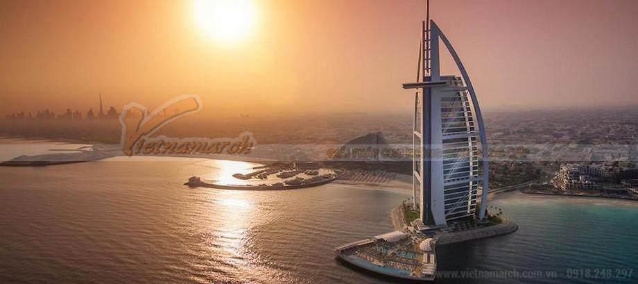 Thiết kế khách sạn 7 sao duy nhất trên thế giới