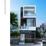 Thiết kế kiến trúc – nội thất nhà ống đẹp 3 tầng cho nhà anh Nam tại Bắc Ninh