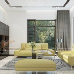 Thiết kế nội thất hiện đại trong biệt thự Hoa Phượng 300m2 nhà chị Hồng