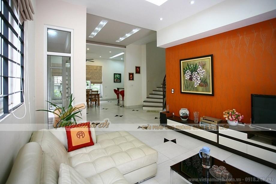 Thiết kế nội thất sang trọng trong căn biệt thự Hoa Anh Đào nhà anh Long
