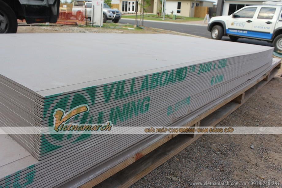 Tấm xi măng Villaboard làm vách ngăn nội thất chịu nước - 02