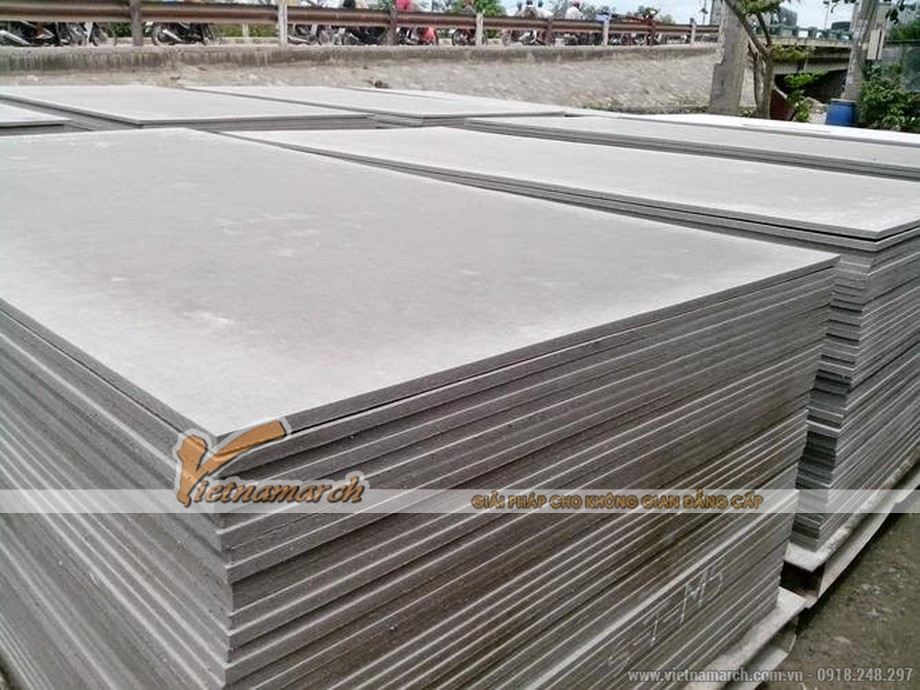 Tấm trần thả chịu nước Duraflex phủ PVC - 02