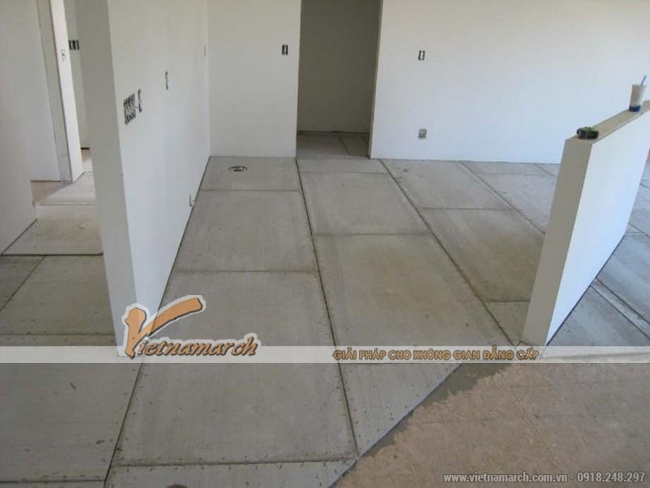 Tấm xi măng Shera làm lót sàn - 04