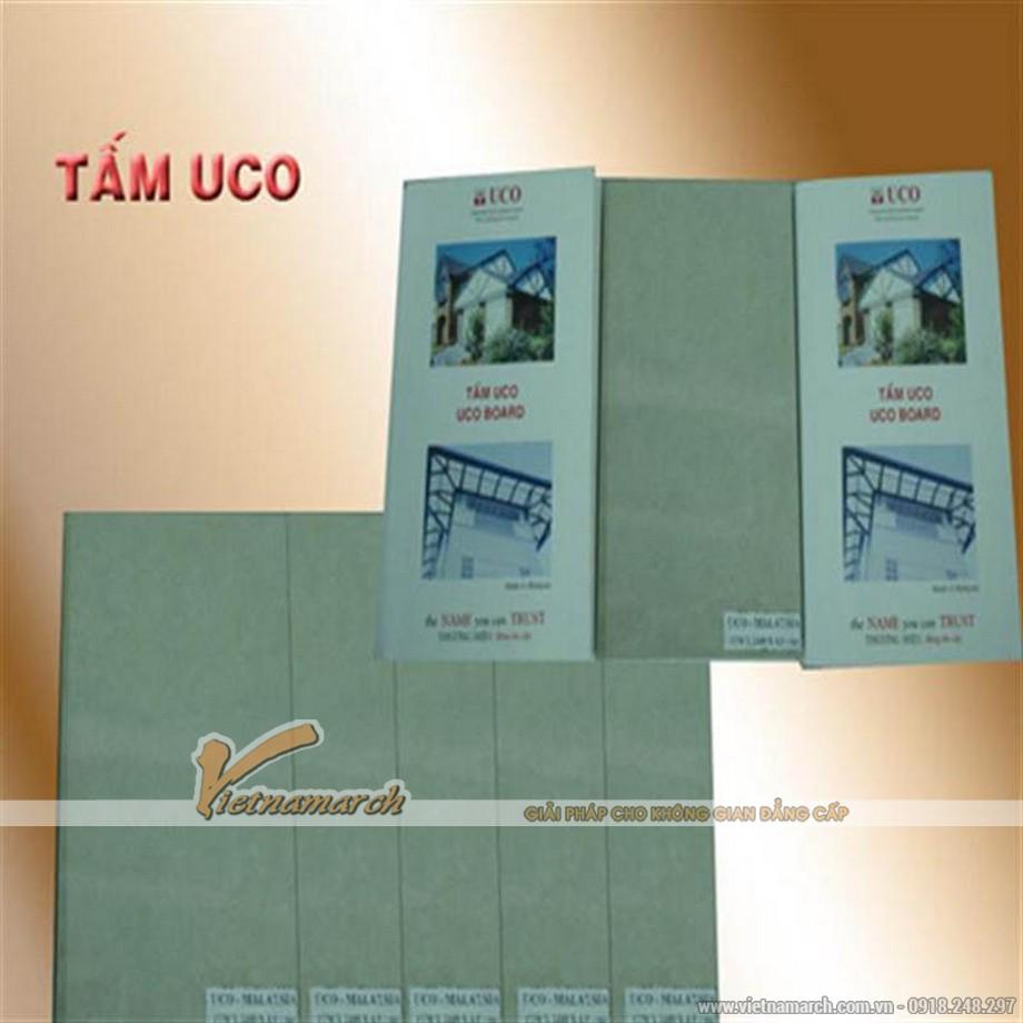 Tấm trần thả chịu nước UCO phủ PVC - 02