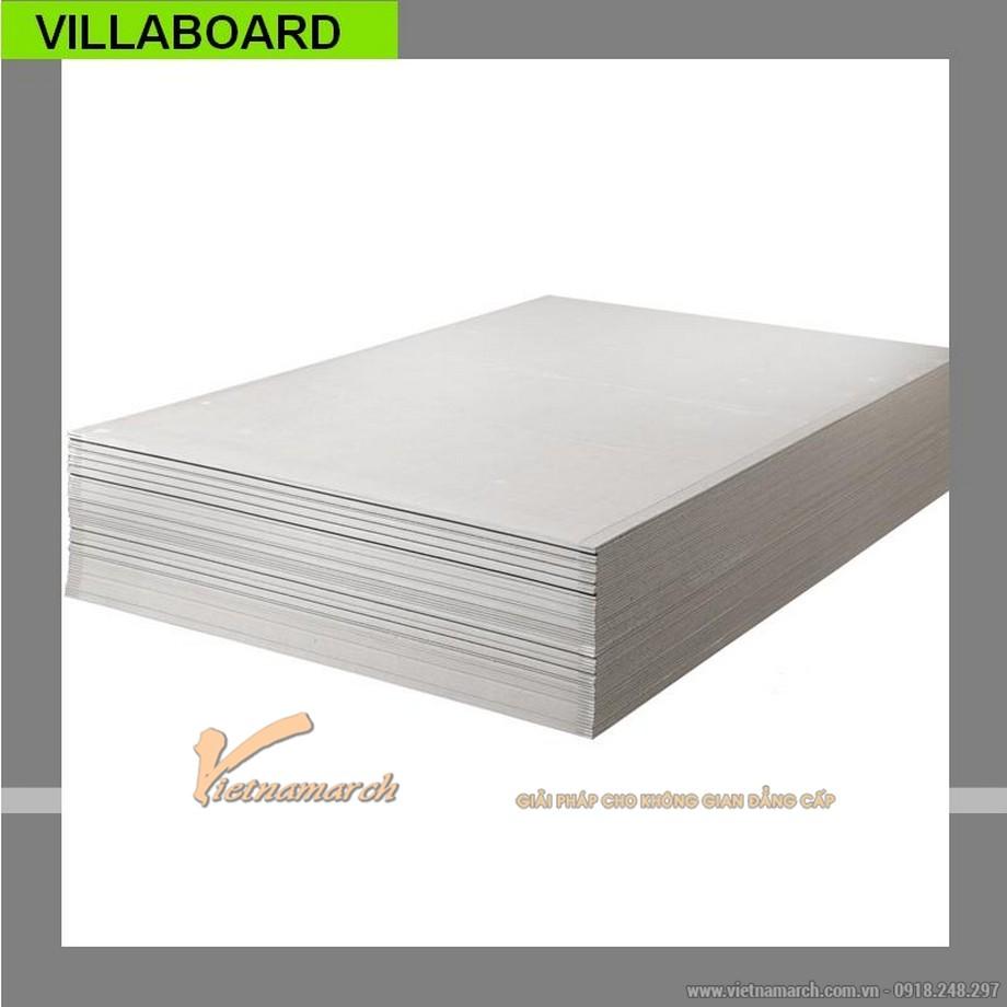 Tấm xi măng Villaboard làm trần nổi chịu nước - 01