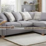 Mẫu ghế sofa khung gỗ xoan đào vải nỉ cao cấp cực êm ái – Mã: SVG-023