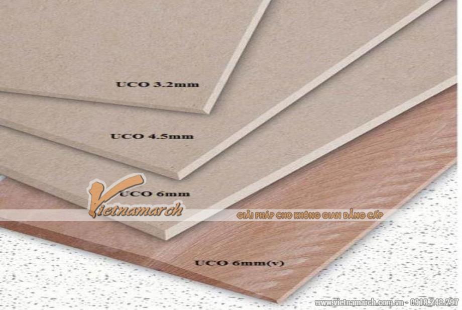 Tấm trần thả chịu nước UCO phủ PVC - 04