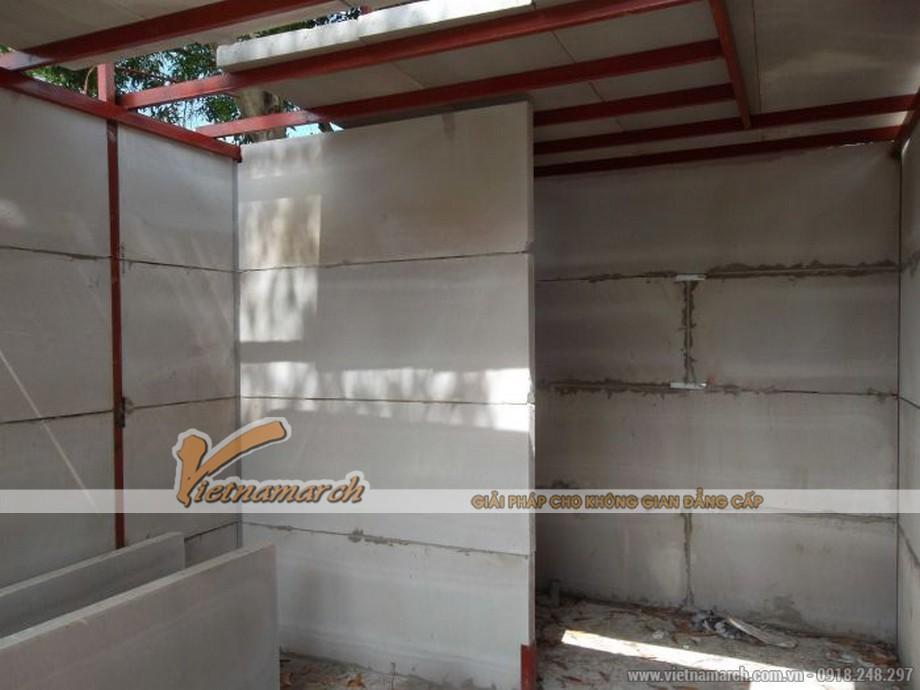 Tấm xi măng Prima làm vách ngăn ngoại thất - 03