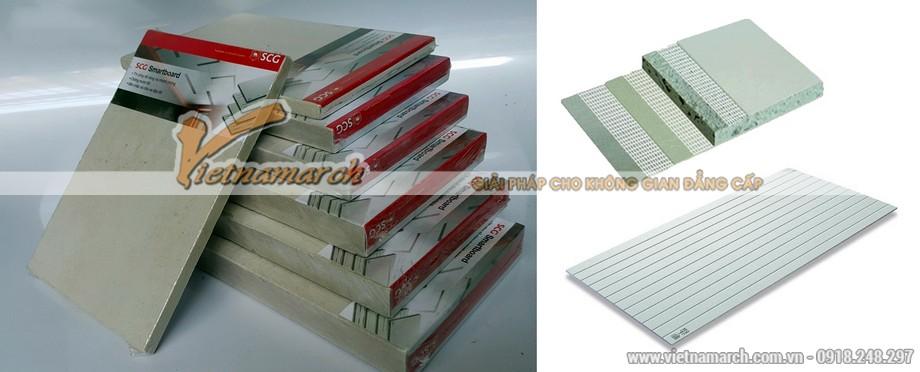 Tấm trần thả chịu nước Smartboard phủ PVC - 05