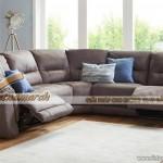 Mẫu ghế sofa vải Nhung giả da cực bền – Mã Số: SVG-025