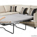 Mẫu ghế sofa văng chất liệu vải nỉ đa năng trong sử dụng – Mã: SVV-039