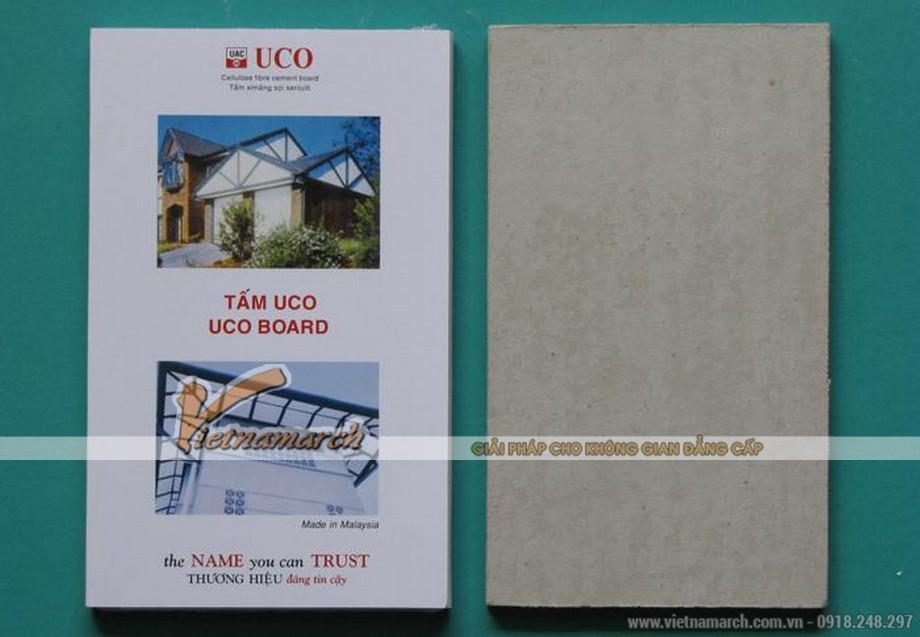 Tấm trần thả chịu nước UCO phủ PVC - 01