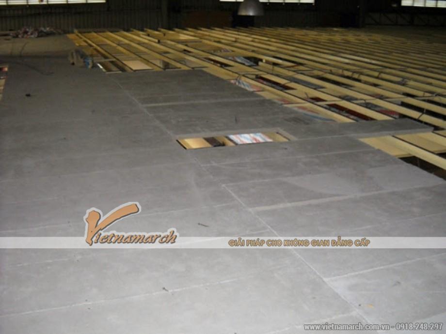 Tấm xi măng Villaboard làm lót sàn - 05