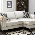 Mẫu ghế sofa vải nỉ tân cổ điển dáng góc điệu đà cho phái nữ đẳng cấp – Mã: SVG-015
