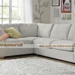 Mẫu ghế sofa 5 chỗ ngồi vải nỉ mềm mại trẻ trung năng động – Mã: SVG-027