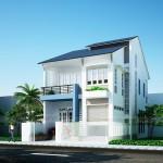 10 Mẫu thiết kế nhà phố, nhà ống đẹp 3 tầng chi phí xây dựng cực thấp
