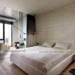 Căn hộ Penthouse độc lạ trong sự kết hợp của đồ nội thất hiện đại và trần thô