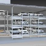 Hệ thống đỗ xe tự động dạng băng tải – Ứng dụng cho khu đất hẹp – Mã: BBT-001