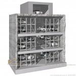 Hệ thống đỗ xe tự động kiểu tháp – Giải pháp cho khu đất nhỏ hẹp – Mã: BTT-001